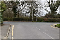 TQ5938 : High Woods Lane, Halls Hole Rd junction by N Chadwick