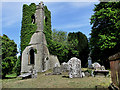 S4159 : Graveyard and Ruined Church by kevin higgins