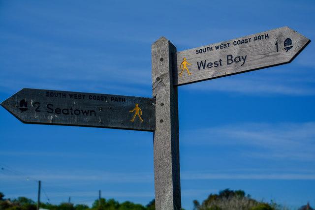 Eype : South West Coast Path