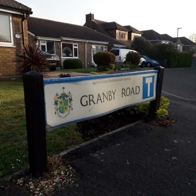 Muscliff: Granby Road