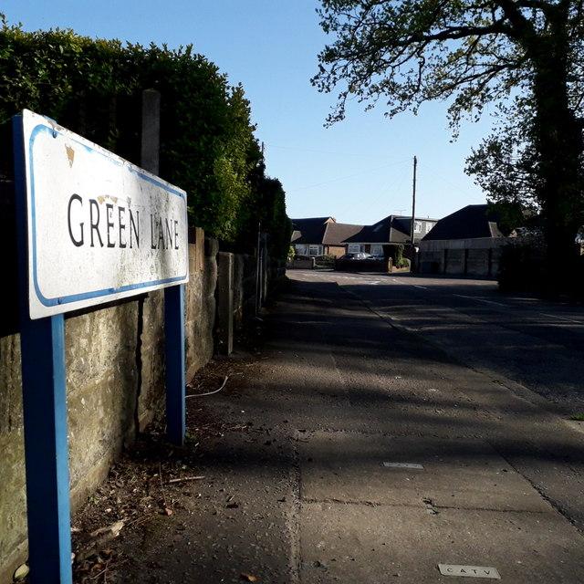 Ensbury Park: Green Lane