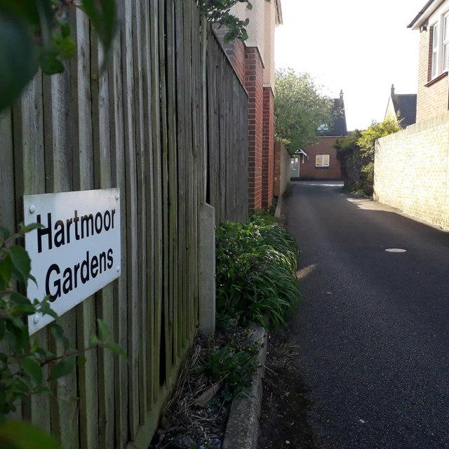 Ensbury Park: Hartmoor Gardens