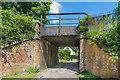 TQ2151 : Wild Croft Bridge by Ian Capper