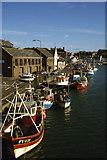 SY6778 : Weymouth - Custom House Quay by Colin Park