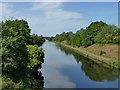 SE3521 : View north from Broadreach bridge by Stephen Craven