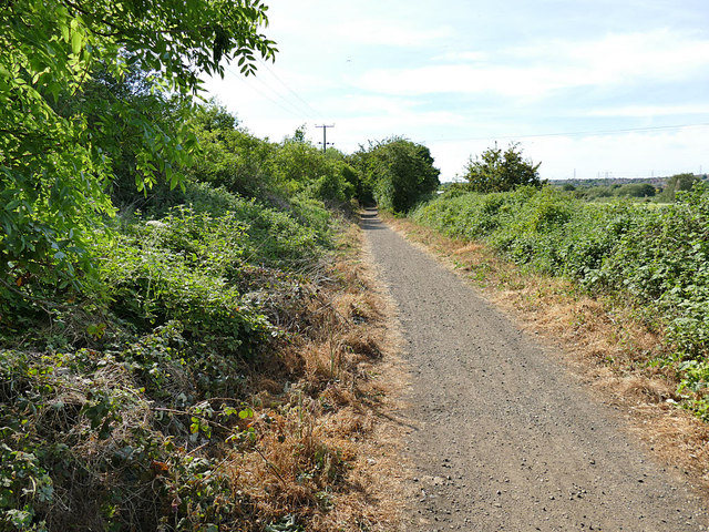 Trans-Pennine Trail at Stanley Ferry