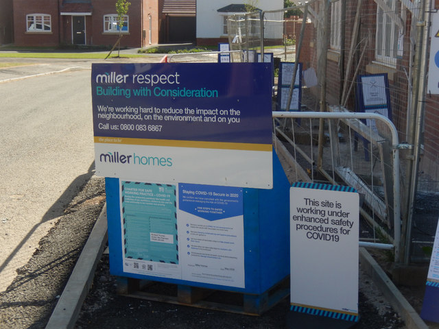 Miller Respect on Potsford Road, Cawston