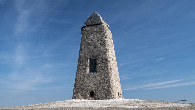 Slieve Donard Triangulation Pillar