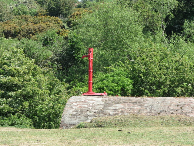 Hand Water Pump, Brier Dene Farm