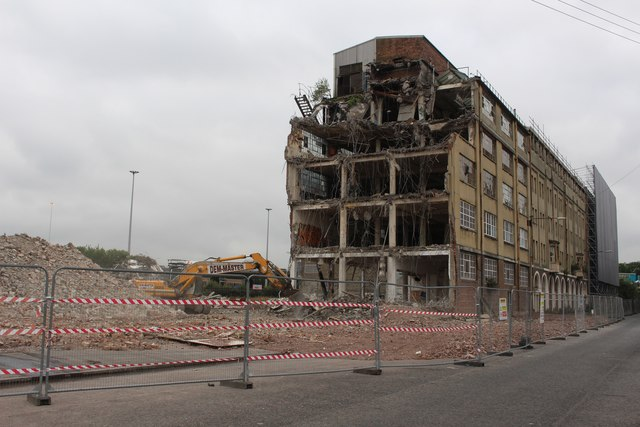 Demolition Site, Stanley Street, Glasgow