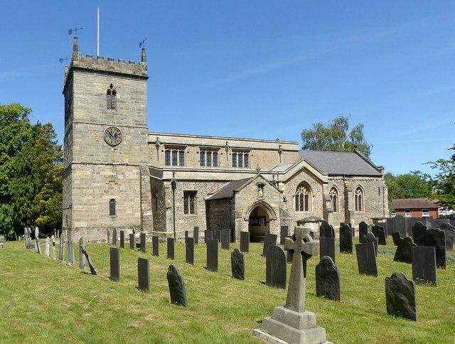 Church of  St Peter, East Bridgford