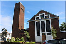 TQ2284 : St Mary Magdalen RC Church, Willesden by David Howard