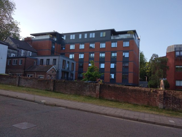 Office block, Southernhay East, Exeter