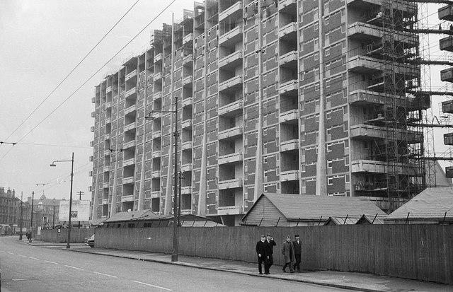 Hutchesontown 'C' tower blocks – 1964