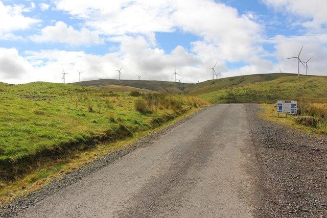 Upper Glendevon Reservoir Access Road
