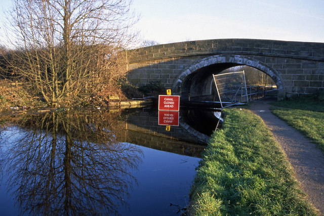 Lancaster Canal closed