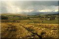 NY7102 : The path off the moors heading towards Wye Garth by Colin Park