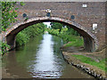 SK1511 : Canal at Bearshay Bridge near Fradley in Staffordshire by Roger  Kidd