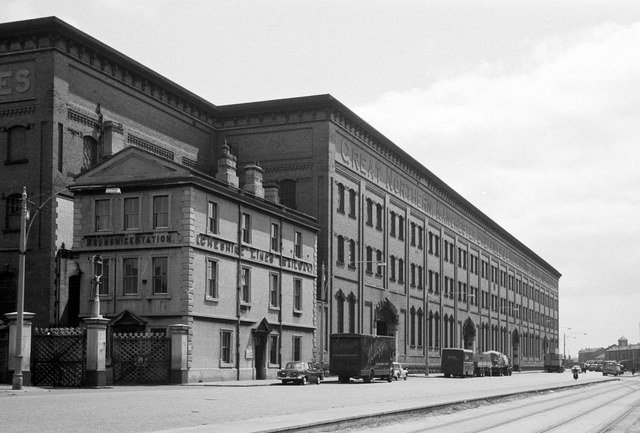 Brunswick Goods Station, 1964 – 1