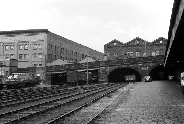 Brunswick Goods Station, 1964 – 5