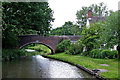 SK1511 : Brookhay Bridge south-east of Fradley Junction in Staffordshire by Roger  Kidd
