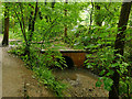 SE3137 : Culvert on Gledhow Beck by Stephen Craven