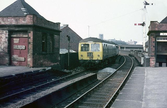 Nottingham Arkwright Street Station