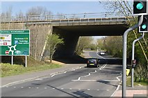 TQ5944 : A21 bridge, Vauxhall Lane by N Chadwick
