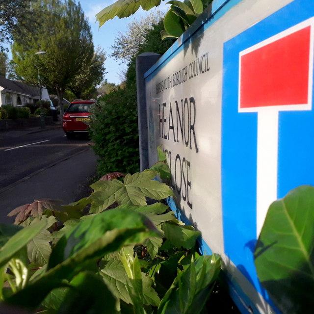 Ensbury Park: Heanor Close