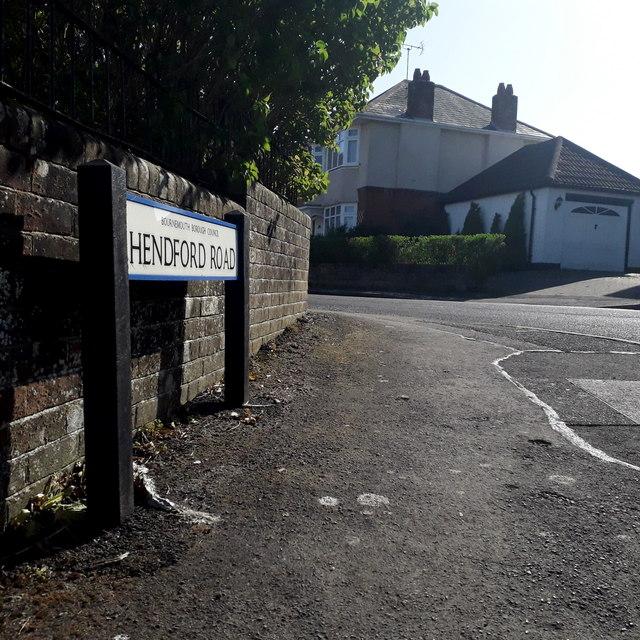 Ensbury Park: Hendford Road