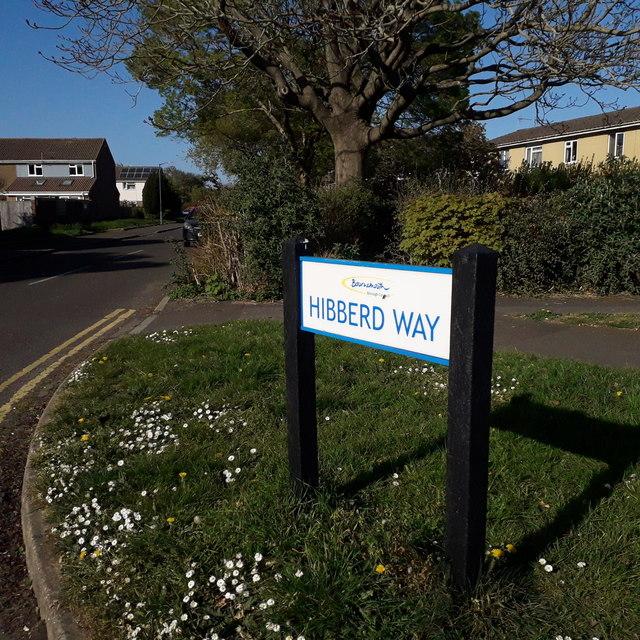 Ensbury Park: Hibberd Way