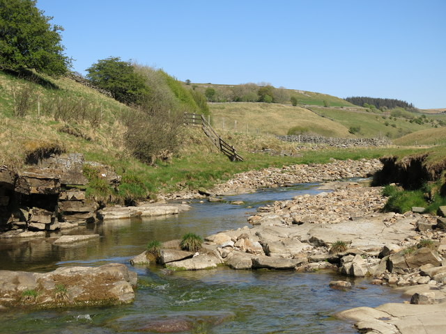 The River Nent below Far Hilltop