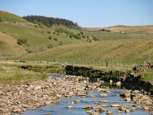 The River Nent below Far Hilltop (2)