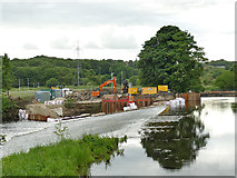 SE2635 : Construction of Kirkstall fish pass (3) by Stephen Craven