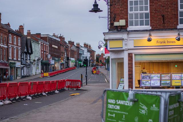 Market Street, Ashby-de-la-Zouch