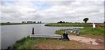 TF3132 : Environment Agency Slipway at Fosdyke Bridge by Ian Paterson