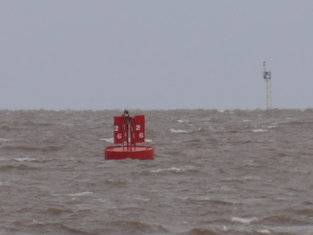 Port Channel marker buoy No 26
