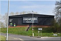 TQ6042 : Carpetright, North Farm Estate by N Chadwick