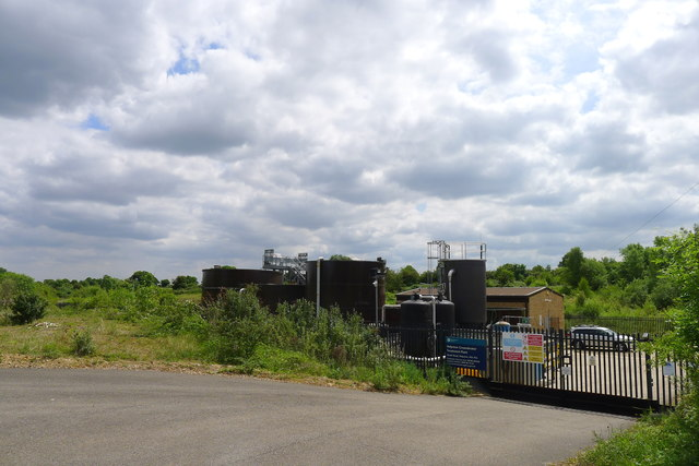Helpston Groundwater Treatment Plant - don't drink the water!