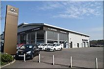 TQ5942 : Tunbridge Wells Hyundai (Closed), Dowding Way by N Chadwick