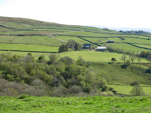 The valley of the River Nent around Middle Skelgill
