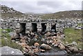 NA9923 : Clapper bridge near Camus Mol Linnis, Isle of Lewis by Claire Pegrum