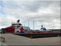 NJ9505 : KL Brisfjord at Aberdeen by Stephen Craven