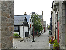 NJ9505 : South Square, Footdee, Aberdeen by Stephen Craven