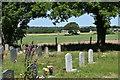 SU7567 : Churchyard, St Bartholomew's church, Arborfield by Simon Mortimer