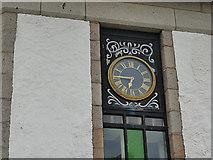 NJ9505 : Clock on the Pilot's House, Footdee, Aberdeen by Stephen Craven
