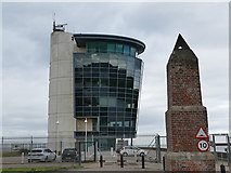 NJ9505 : Aberdeen Harbour Operations Centre by Stephen Craven