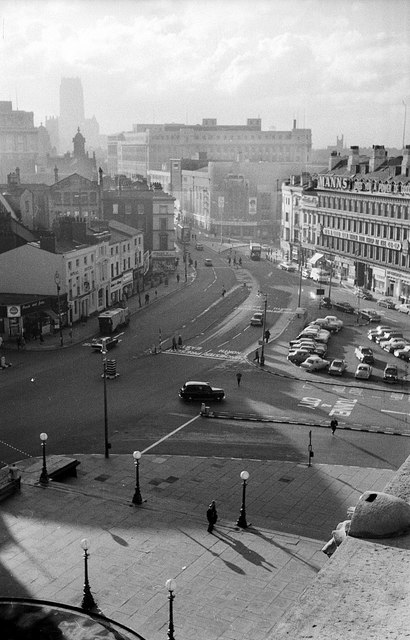 A high level view of Lime Street – 1964