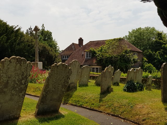 Graveyard and Pigeon House Farm, North Mundham