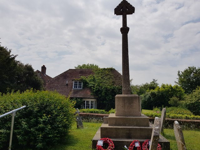 War Memorial and Pigeon House Farm, North Mundham